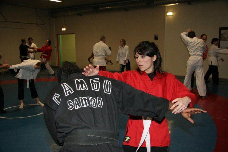 Académie grenobloise Sambo défense
